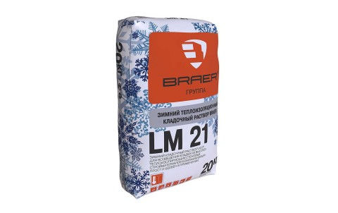 Кладочный раствор BRAER LM 21 М50