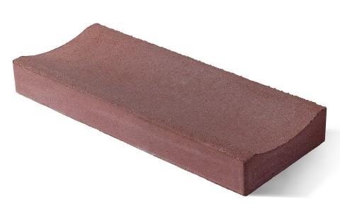 Лоток водоотводный бетонный BRAER ЛВ 50.20.6 красный