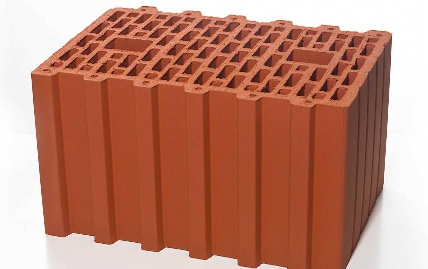 Поризованный керамический блок BRAER 10,7 NF
