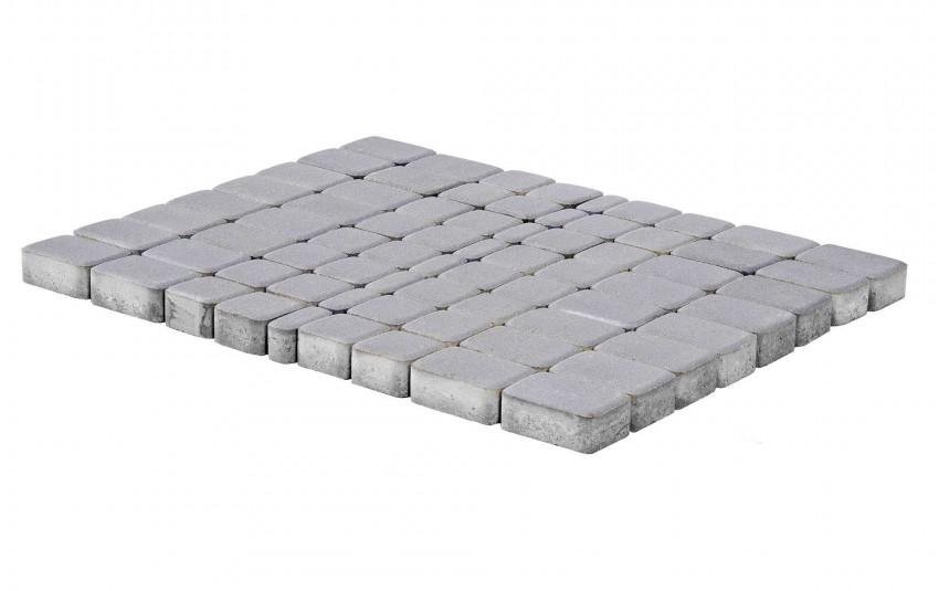 Тротуарная плитка BRAER Классико, Грифельный, высота 60 мм
