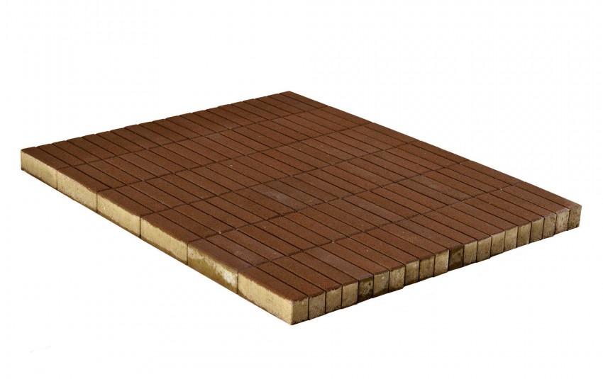 Тротуарная плитка BRAER Прямоугольник, Коричневый, высота 60 мм