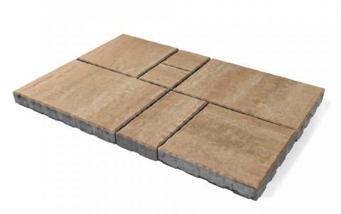 Тротуарная плитка BRAER «Патио» Плато, высота 60 мм