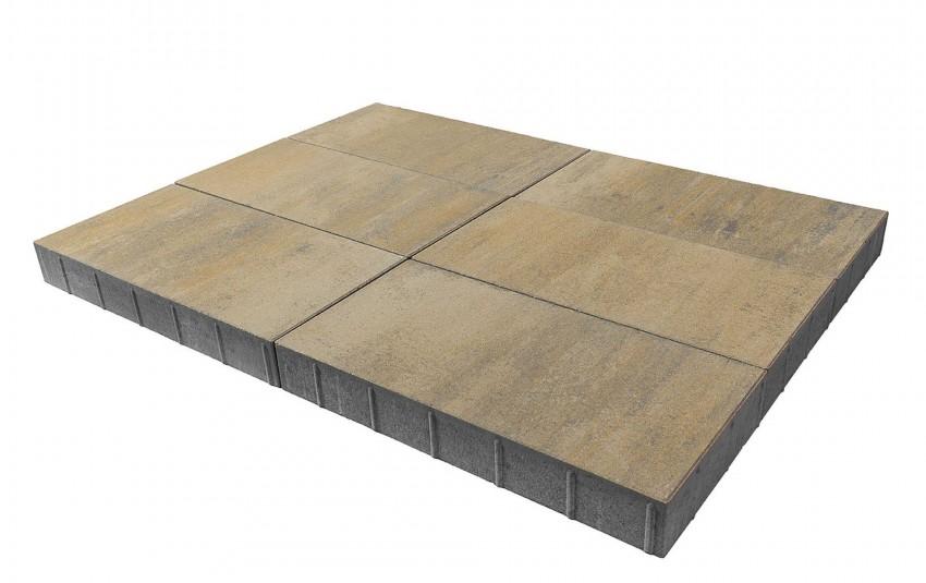 """Тротуарная плитка BRAER Сити, """"Эверест"""", высота 80 мм"""