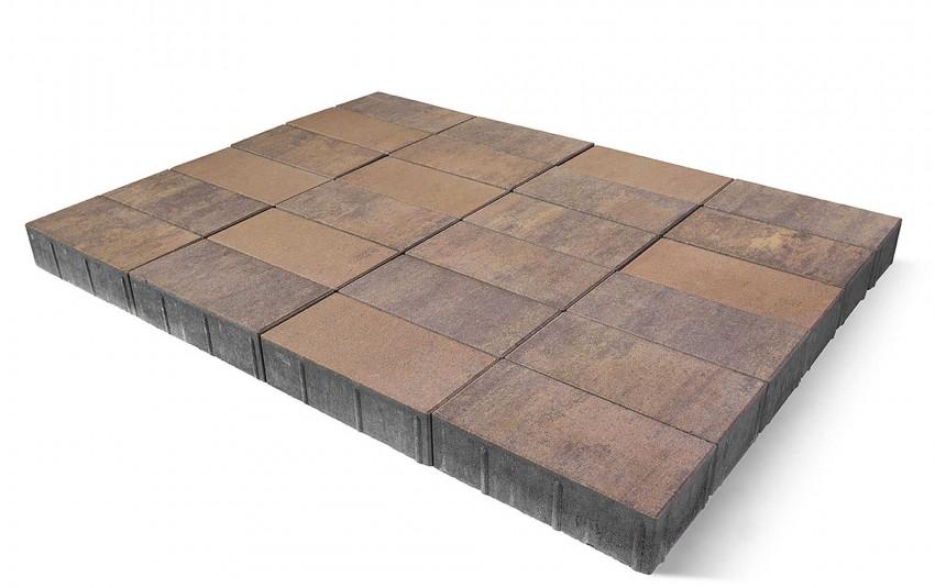 """Тротуарная плитка BRAER Сити, """"Прайд"""", высота 80 мм"""