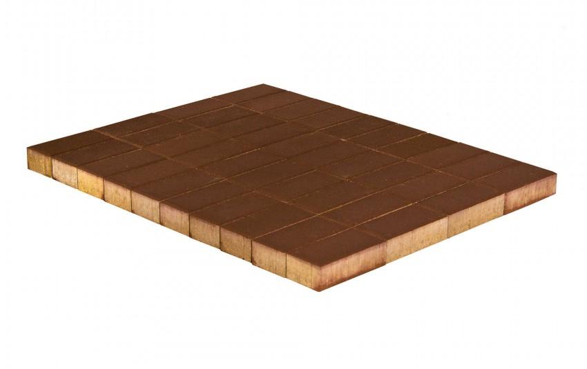 Тротуарная плитка BRAER Прямоугольник, Коричневый, высота 40 мм