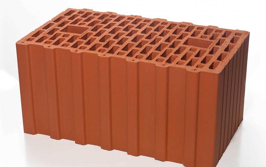 Поризованный керамический блок BRAER 12,4 NF